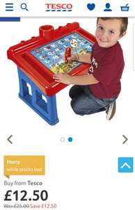 Tesco- Paw Patrol Educational Activity Table for £12.50