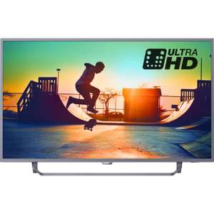 "Philips 55PUS6272/05 55"" Smart 4K Ultra HDTV with HDR & 3-Sided Ambilight £469 from £499 at AO.com  (potentially for £416.50**)"