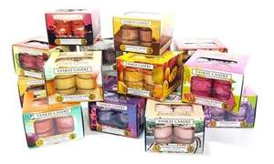 6 boxes yankee candle tea lights £19.98 Delivered at Groupon