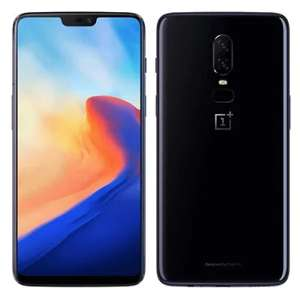 (Sale starts at 08:15) OnePlus 6 4G Phablet 64GB ROM International Version Mirror Black £377.89 @ Gearbest *in app*