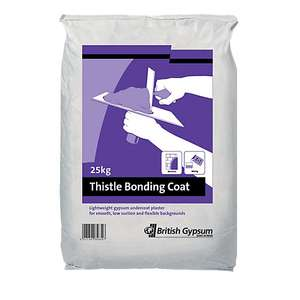 Bunnings High Wycombe, Thistle  Bonding coat Plaster 25kg - £1 in store