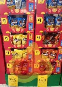 World Cup Snacks - 3 for £2 on Doritos 180g  - also includes 1.5 Litre Pepsi @ Morrisons online and instore