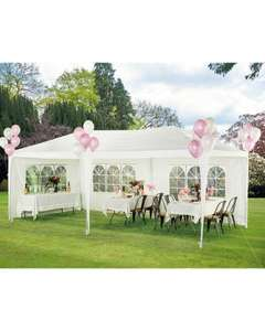 Gardenline 6m x 3m party gazebo with 3 year warranty £59.99 & 1200w rotary lawnmower £34.99 delivered @ Aldi
