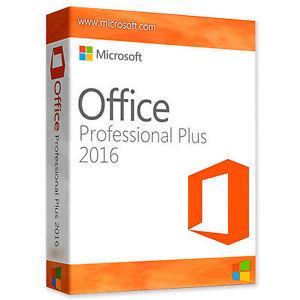 Genuine Microsoft Office Professional Plus 2016 - £4.25 @ jeffrey00919 ebay