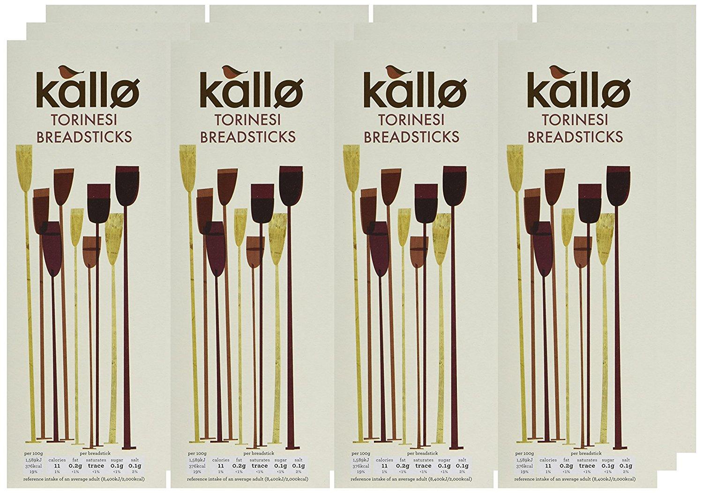 Kallo Original Torinesi Breadsticks 125 g (Pack of 12) £4.80 @ Amazon - Add on Item