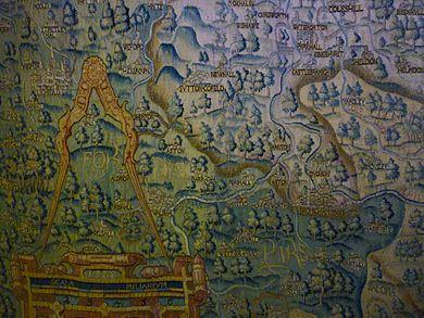 Free Sheldon Tapestry Map talks - Blackwell Hall, Weston Library, Oxford