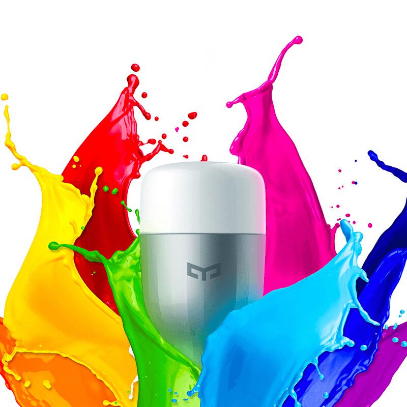 Original Xiaomi Yeelight RGB WiFi  Smart Bulb (Works with Alexa) E27 £10.05 Delivered @ Joybuy