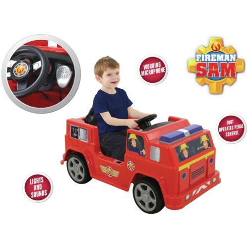 Fireman Sam 6V Jupiter Ride-On £62.99 - Argos ebay