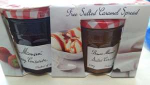 Bonne Maman Strawberry Conserve and free Salted Caramel Spread £2 @ Morrisons instore