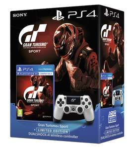 Sony PS4 Official Dualshock 4 Controller- GT Sport Edition with GT Sport  £40 @ Tesco Direct
