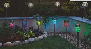 30% off solar lights when you buy any 2 eg 2 sets of 4 unicorn / butterfly lights were £20 now £14 @ Asda George