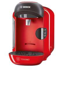 Bosch Tassimo Vivy TAS1253GB Coffee Machine, 1300 Watt, 0.7 Litre - Red £34.99 @ Amazon