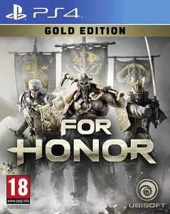 For Honor Gold Edition PS4 £16.50 @ Coolshop