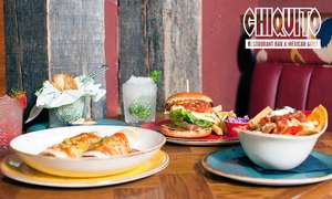 2 course meal with 2 drinks or cocktails at Chiquitos £16.99 for one or £33.89 for 2 people @ Groupon