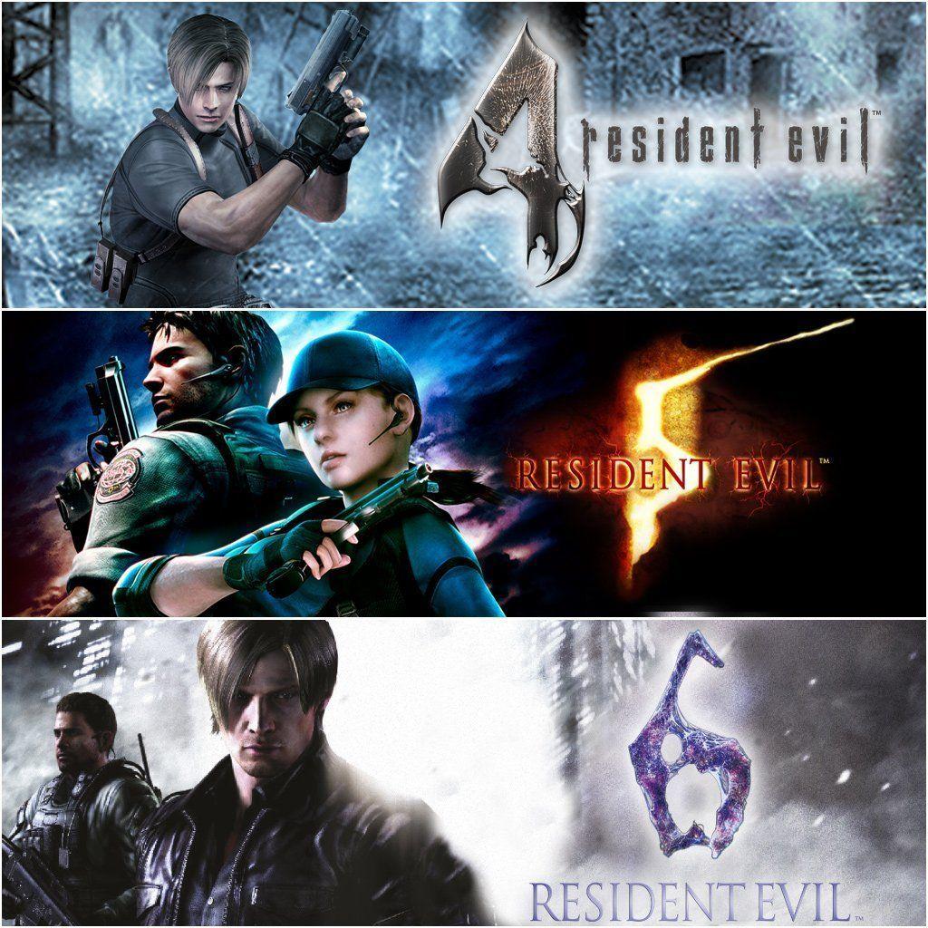 Resident Evil Triple Pack PS4 £14.99 PSN