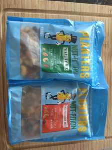 Poundland Planters Nut-rition Vitality / Anti-oxidant Mix Fruit, Nut & Seed bags, 155-160g, short dated stock 25p, Edinburgh Meadowbank ?? National