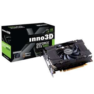 Geforce GTX 1060-Compact-x1-3072mb-gddr5 Graphics Card 3GB Overclockers £169.99  / £180.49 delivered