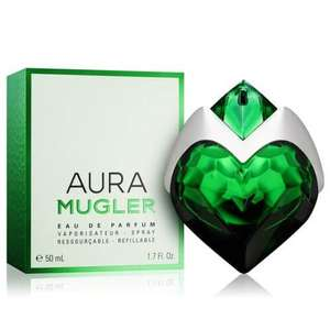 Free Sample of Aura Mugler Fragrance