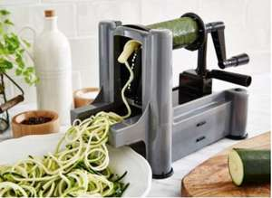 Linea grey worktop spiralizer was £30 now £9 + £3.95 Delivery (or spend £10 min for C&C at £2) @ house of fraser