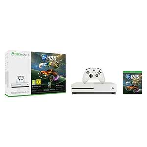Xbox One S 500GB + Rocket League + 3 Months Xbox Live £161.87 (Add an additional 6 months Xbox Live for £11.82)  @ Amazon Germany