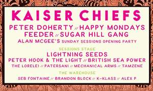 Sunday Sessions Scotland w/ Kaiser Chiefs on 24 June at Dalkeith Country Park (Up to 56% Off) @Groupon