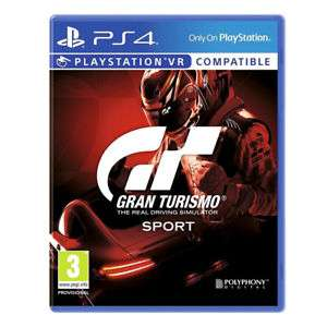 Gran Turismo Sport PS4 VR compatible now £14.95 delivered @ eBay sold by Tesco_outlet