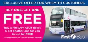 First Bus (Scotland) buy one get one free Adult day ticket