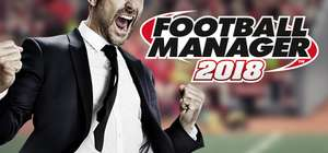 Football Manager 2018 Steam £12.92