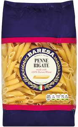 Lidl Baresa Pasta All Varieties 500g Fusilli, Spaghetti, Penne, Conchiglie, Wholewheat Spaghetti, Wholewheat Fusilli 39p @ Lidl Instore