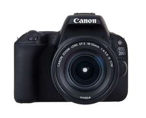 Canon EOS 200D Kit with EF-S 18-55mm f/4-5.6 IS STM Lens £369.99 @ Toby Deals