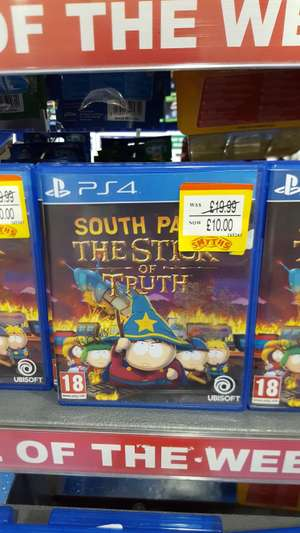 PS4 South Park The Stick of Truth £10 Coventry Smyths