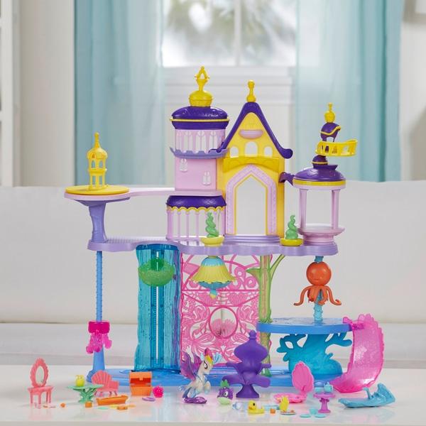 My Little Pony Canterlot & Seaquestria Castle £24.99 Smyths Toys