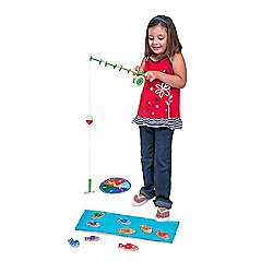 Melissa & Doug Catch & Count Magnetic Fishing Rod Set £11.50 Tesco Direct