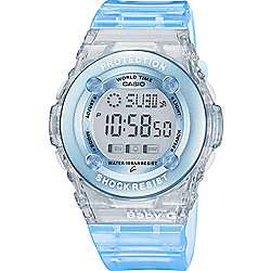 Casio Baby-G Watch with World Time Blue and White NOW £32.50 @ Tesco Direct with free Click & Collect