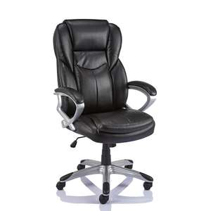 Staples Giuseppe Bonded Leather Executive Chair £93.67 @ Staples with code