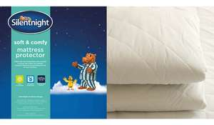Silentnight Soft & Comfy Double Mattress Protector only £2.75 @ George (Free C&C)