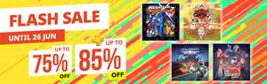 FLASH SALE! at PlayStation PSN Store *MegaMan, HellDivers, Devil May Cry, PayDay 2, How to Survive 2, Resogun, Valentino Rossi, Zero Escape and more [South East Asia Region]