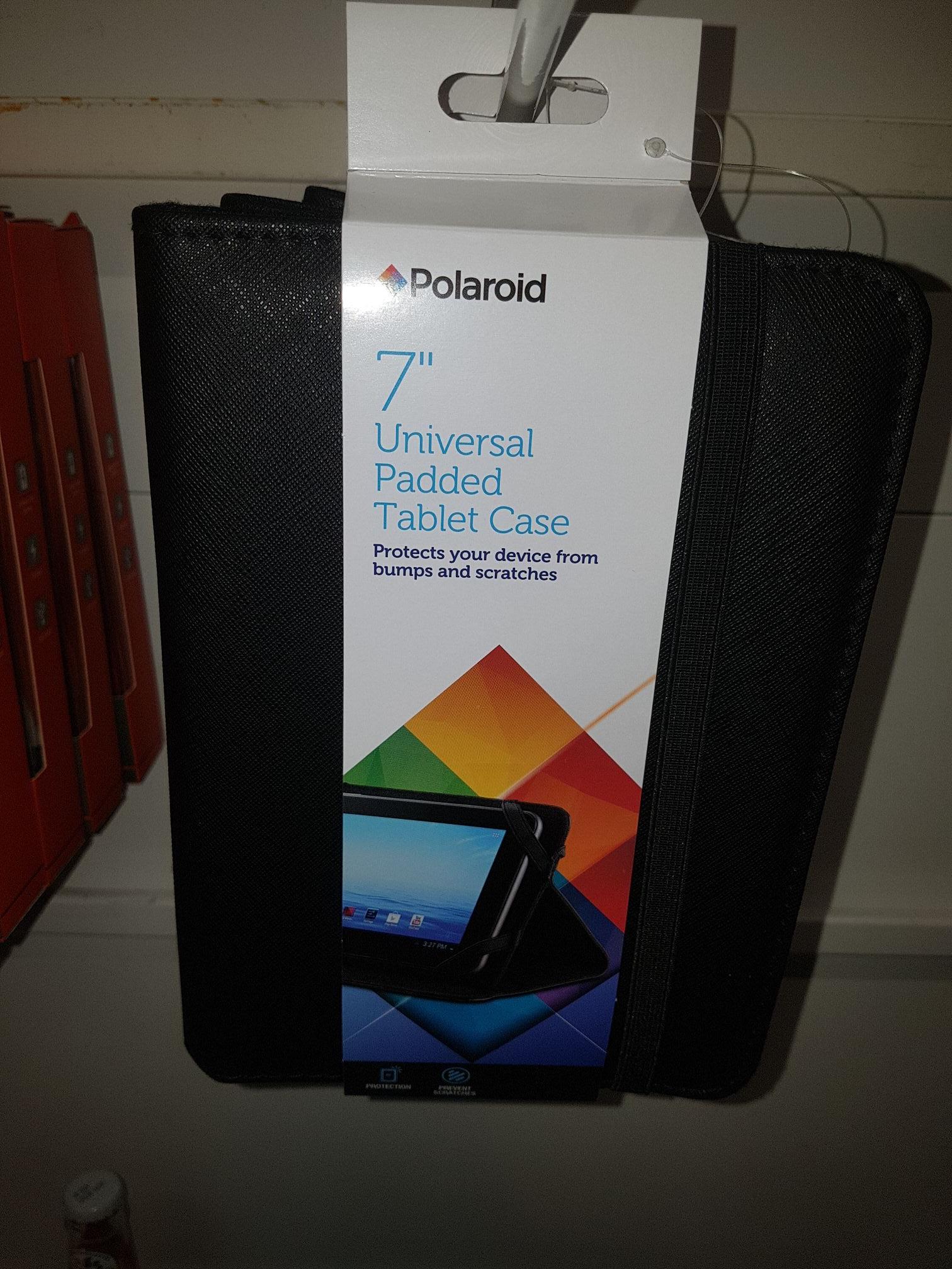 Polaroid universal tablet case 70p instore @ asda
