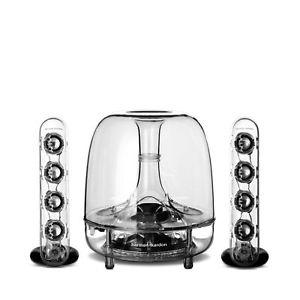 harman kardon SoundSticks III Clear 2.1-Channel Multimedia Sound System, £87.99 at harmankardon/ebay