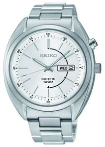 Seiko Gents Kinetic Stainless Steel Bracelet Watch (SMY117P1) £66.49 (RRP £200) Rubicon Watches