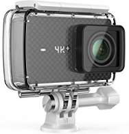 """YI 4K Plus Sports Action Camera Ultra HD 4K/60fps 12MP Wifi Helmet Camera with 2.2"""" LCD Touch Screen Voice Control (Black) £189.99 Sold by YI Official Store UK and Fulfilled by Amazon."""