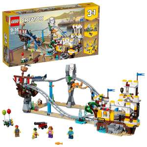 LEGO Creator: Pirate Roller Coaster (31084) 55.99 Del w/code @ The Biggest Toy Store / eBay - more in OP