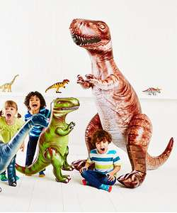 Giant 6ft Tall Inflatable T-Rex Half Price now £12.50 C+C in Early Preview Sale @ ELC