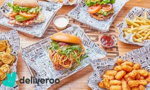 Deliveroo £2.50 takeaway credit (existing customers) / £5 credit new Deliveroo customers for 85p w/code @ Deliveroo via Groupon