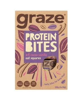Graze Protein Bites 4x30g £1.50 @ Waitrose