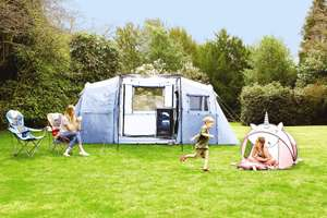 Camping event unicorn, panda & dinosaur pop up tents £14.99, pop up festival tents £19.99 more in OP @ Aldi (+ £2.95 Del / Free wys £20)