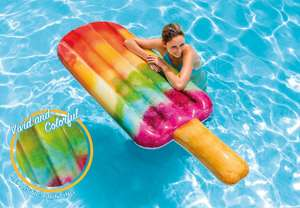 Intex Inflatable Cool Me Down Popsicle Pool Float £10 free delivery with code @ The Works