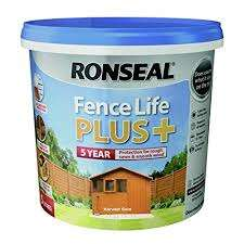 Ronseal Fence Life 5 Litre 5 Year Coverage £3.49 at Home Bargains