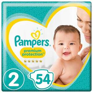 Pampers Nappies e.g size 2 54pk £4 - Decent Offer at Tesco's - Different Sizes too