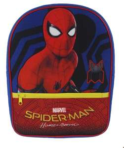 Spider-Man Backpack - back in stock £3 at Tesco